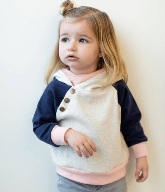 Kids Doublehood Sweatshirt - Unicorn Hugs