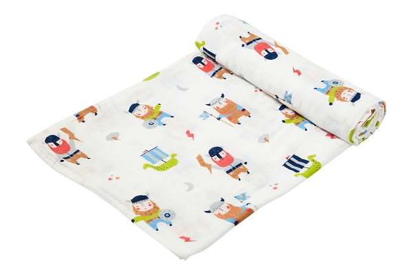 Bamboo/Cotton Swaddle Blanket (PRINTS)