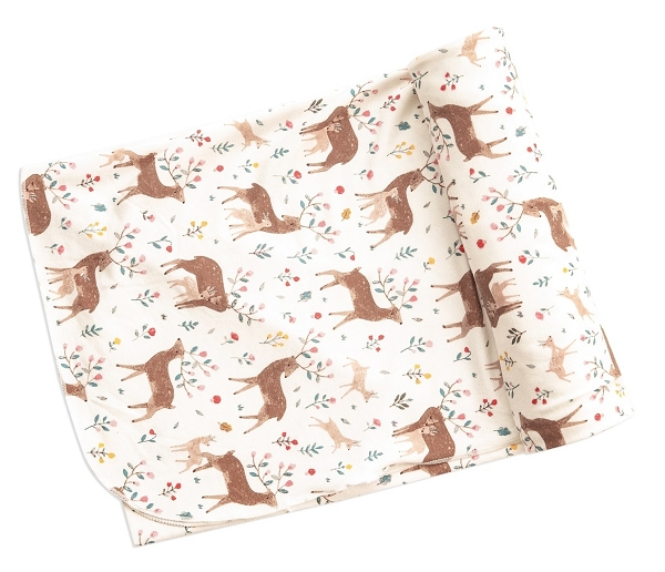 Bamboo Swaddle Blanket | Little Deer