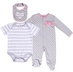 'LOVE' 3 pc Layette Set