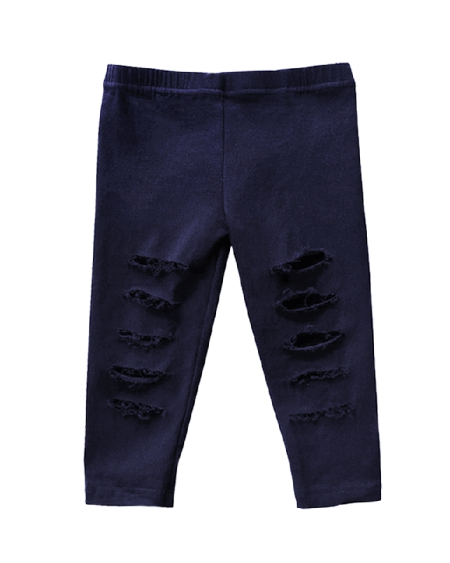 Roxie Slashed Jeggings | Navy
