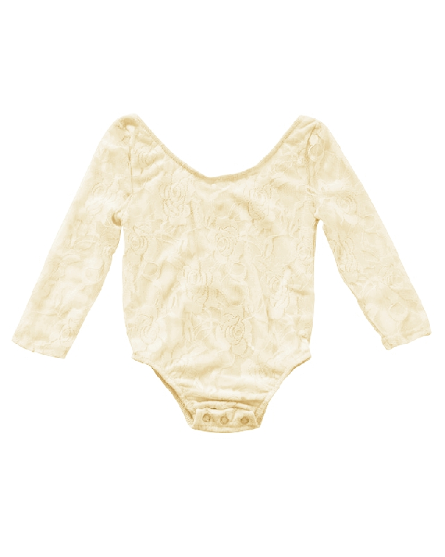 Lace Leotard | Ivory