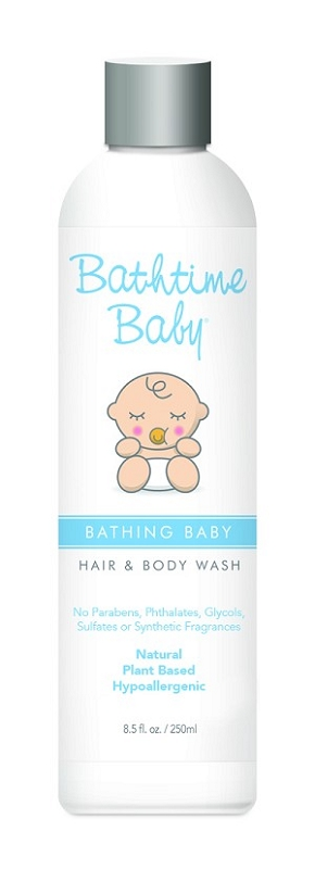Bathtime Baby Bathing Baby Hair & Body Wash 8.5 oz