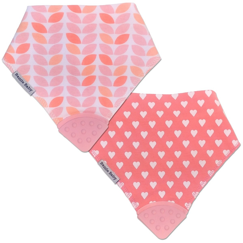 Bandana Bib Teether 2 pack