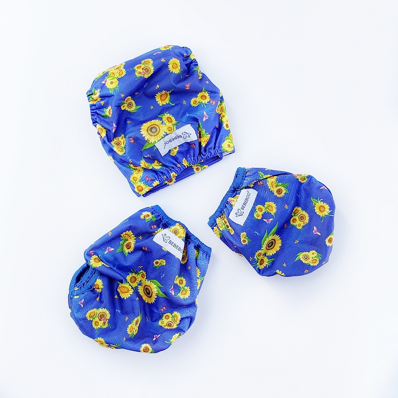 Bebeboo Flex Diaper Cover OS | Here Comes the Sun