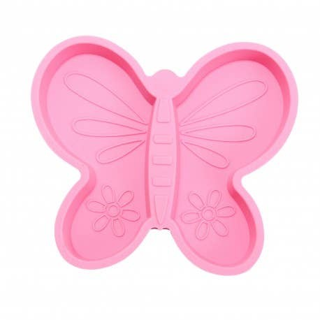 Silicone Divided Plate | Butterfly