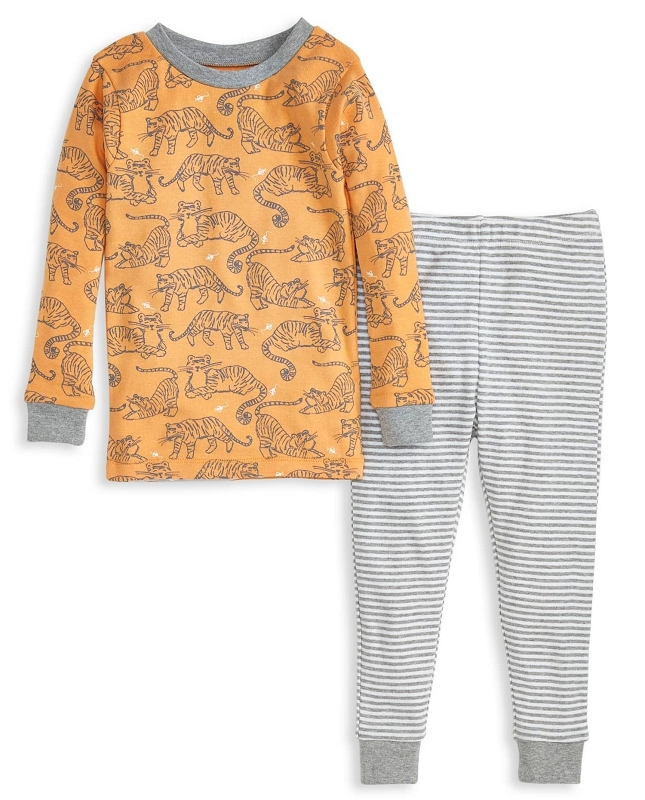 Napping Tigers 2 pc Pajamas