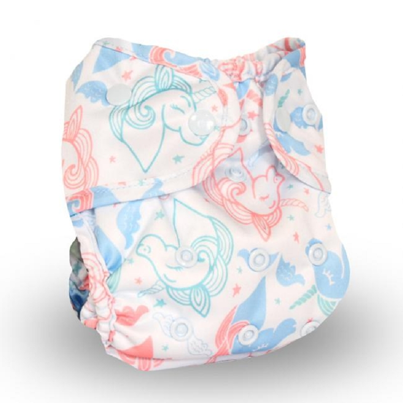 Buttons Diaper Cover (prints)
