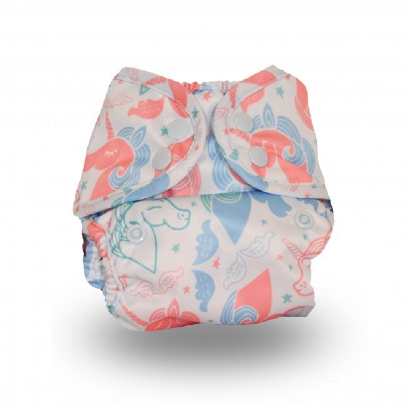 Buttons Newborn Diaper Cover (prints)
