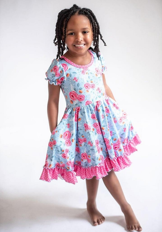 Sweet Sunshine Rose Dress