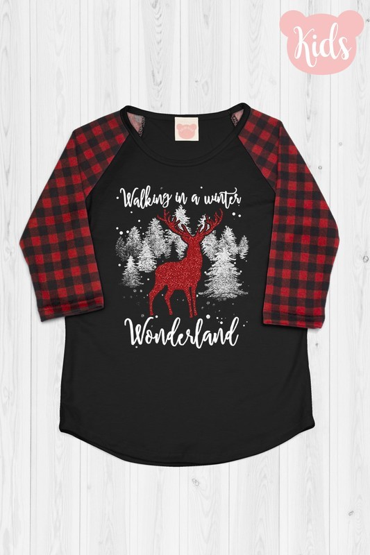 Winter Wonderland Raglan Top