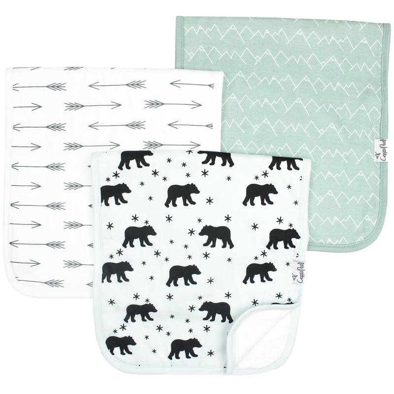 Burp Cloths 3 pk | Archer