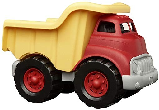 Green Toys Dump Truck | Red/Yellow