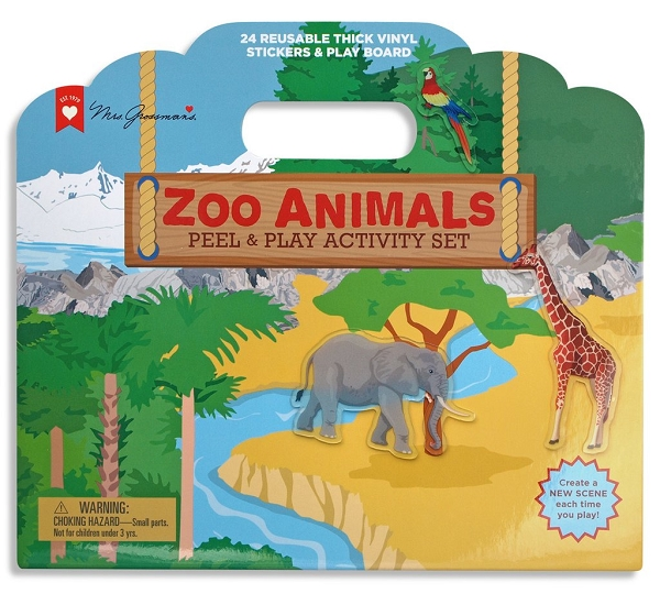Peel & Play Activity Set | Zoo