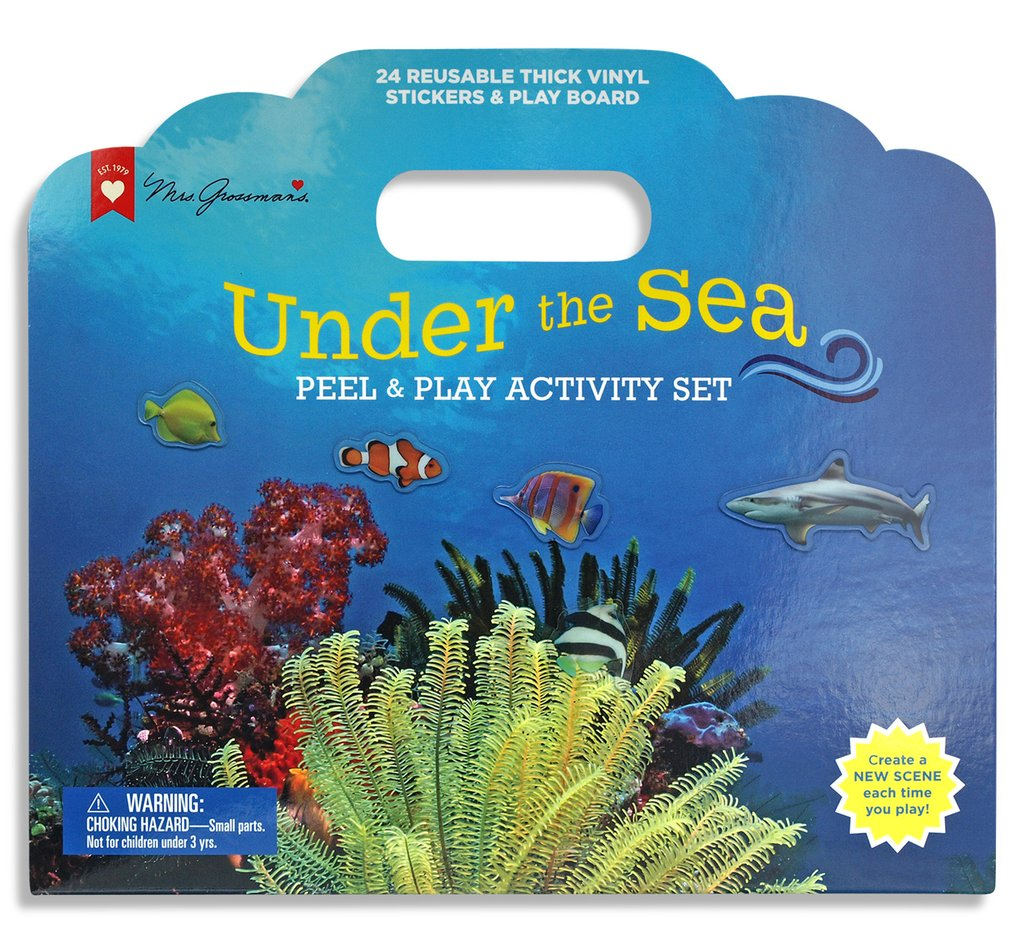 Peel & Play Activity Set | Under the Sea