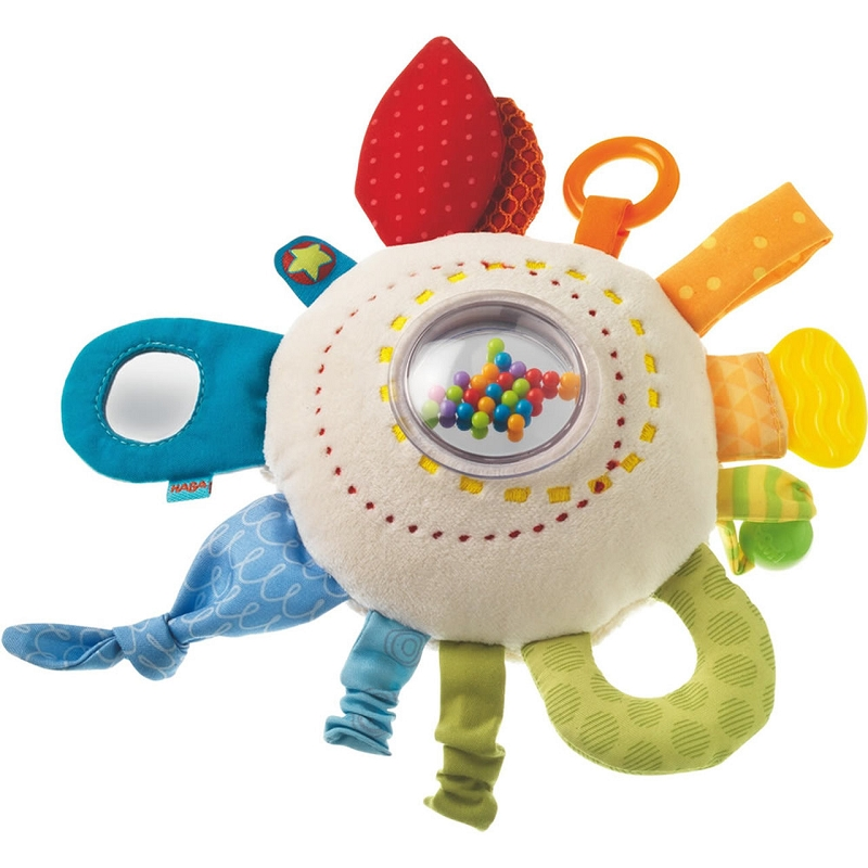 Rainbow Round Teether Cuddly