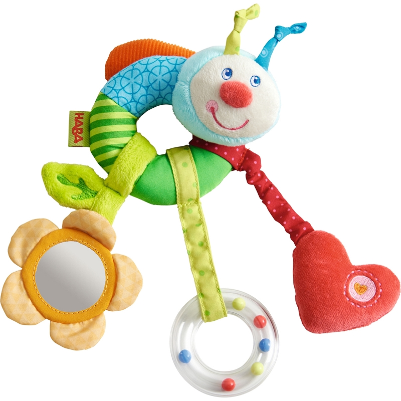 Rainbow Worm Clutching Toy