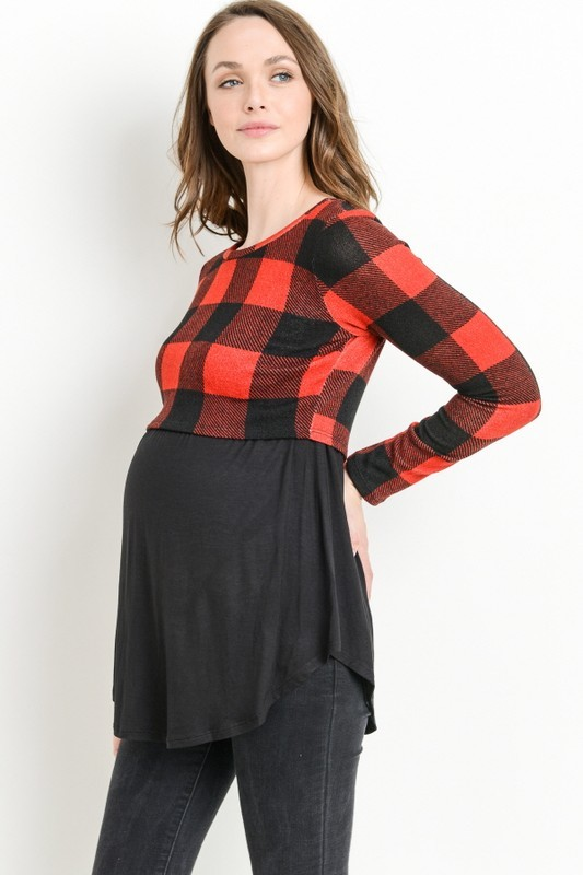 Natalie Maternity Top