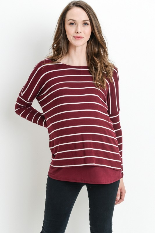 Mulberry Nursing Top