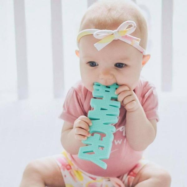 TeetheWords #HANGRY Teether | Mint