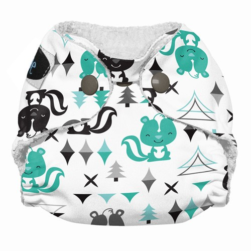 Imagine Newborn Bamboo All-in-One Diaper (Prints)