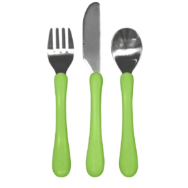 Learning Cutlery Set | Green