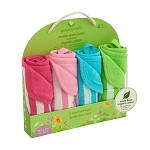 Organic Cotton Muslin Washcloths (4 pack)