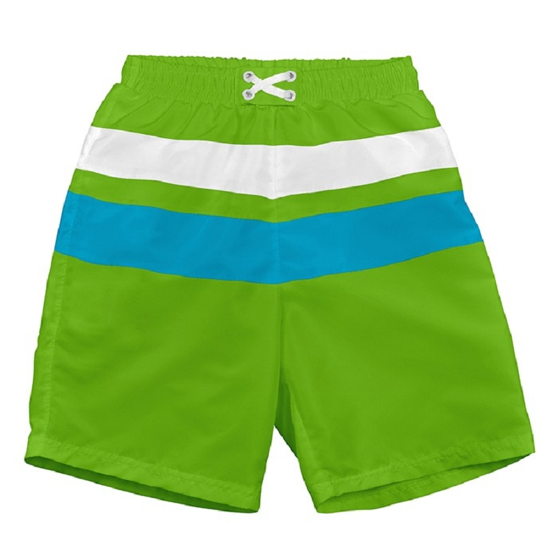 Colorblock Trunks with Built-in Reusable Swim Diaper