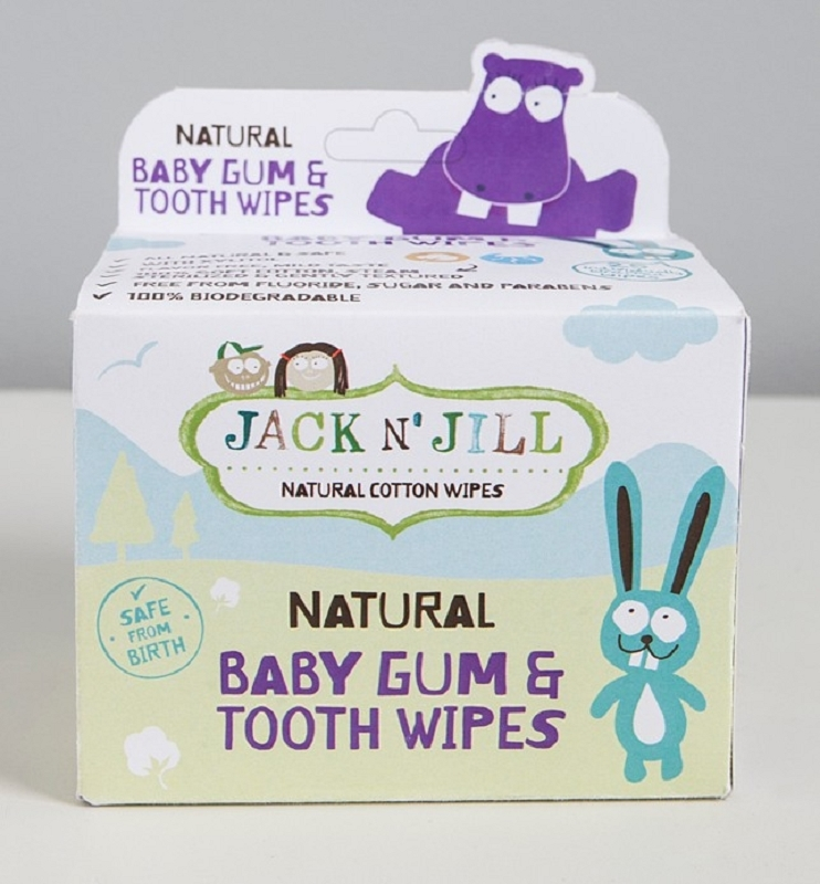 Baby Gum & Tooth Wipes (25 pc)