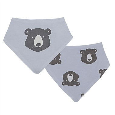 Bandana Bibs 2 pack | Bear