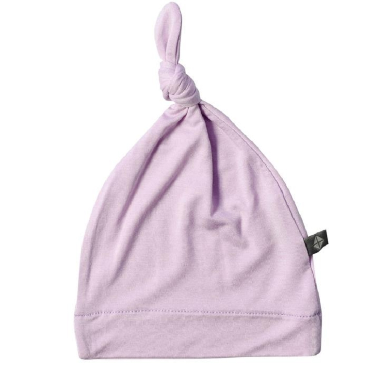 Bamboo Knotted Cap | Mauve