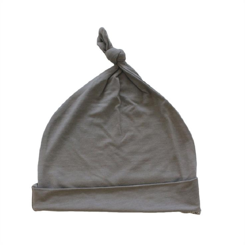 Bamboo Knotted Cap | Clay