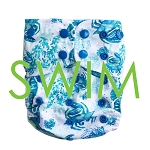 Lighthouse SWIM Diaper - Juno  **Go Coastal series**