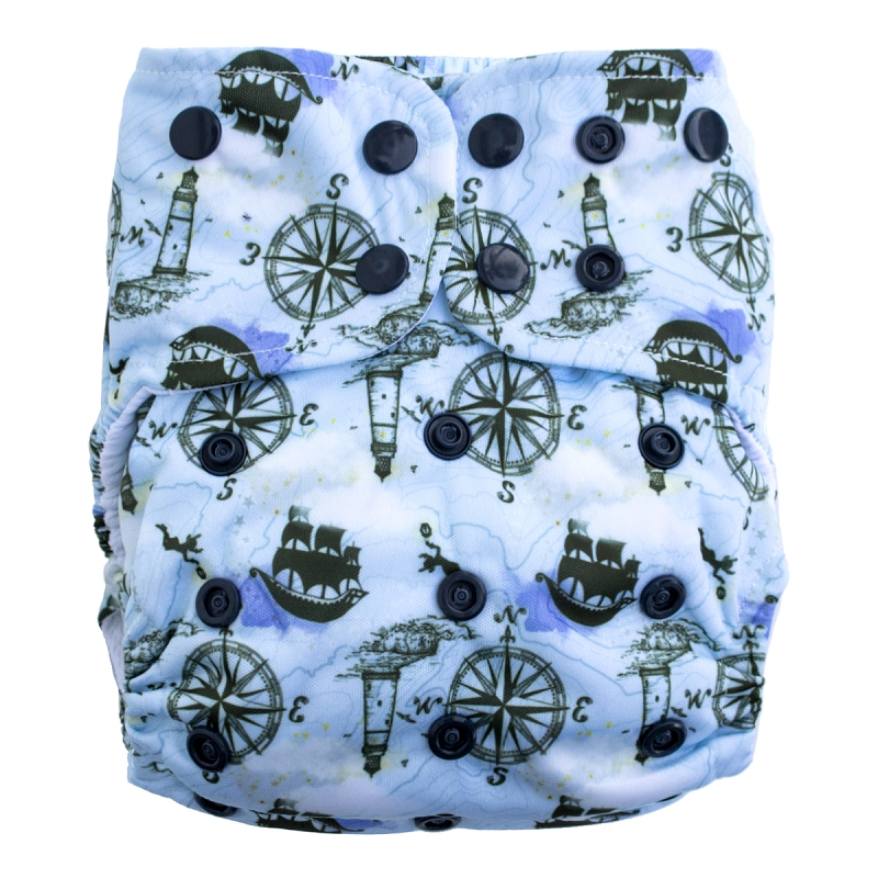 Lighthouse AIO Diaper - Salt