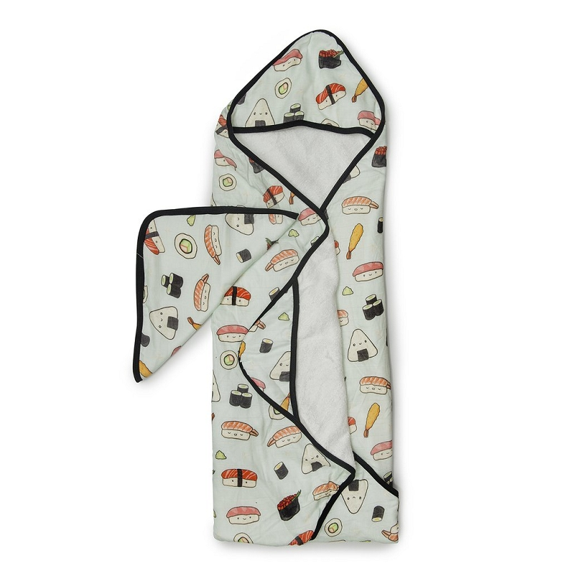 Hooded Towel Set | Sushi