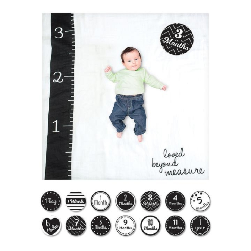 Baby's First Year Blanket & Card Set | Loved Beyond Measure
