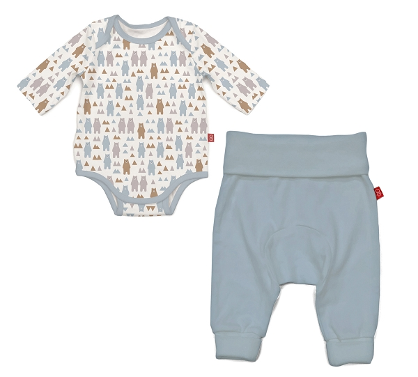 Magnetic Bodysuit Set |Beary Good Pals