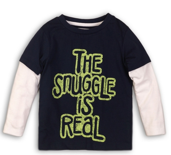 Snuggle Is Real Long Sleeve Tee