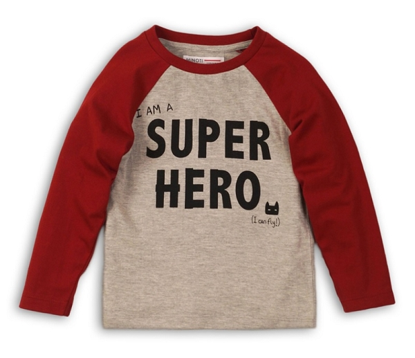 Super Hero Long Sleeve Raglan