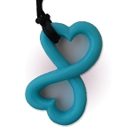 Infinity Heart Teething Necklace