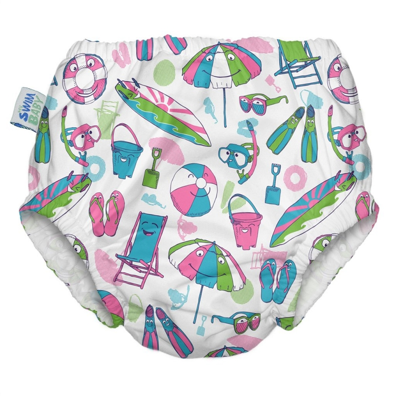 Ruffle Reusable Swim Diaper | Salty Toes
