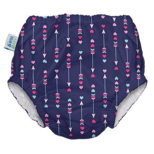 Ruffle Reusable Swim Diaper | That's Amore