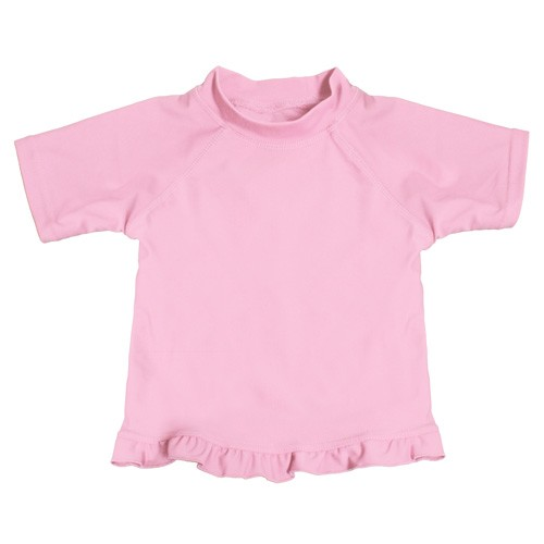 Ruffled Swim Shirt | Pink
