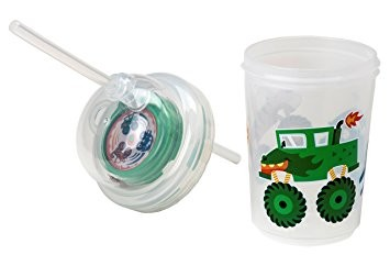 Sip & Spin Straw Cup | Monster Trucks