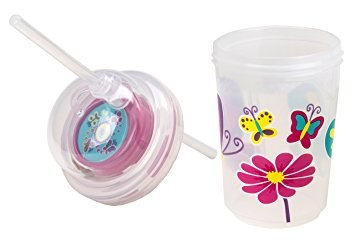 Sip & Spin Straw Cup | Butterflies