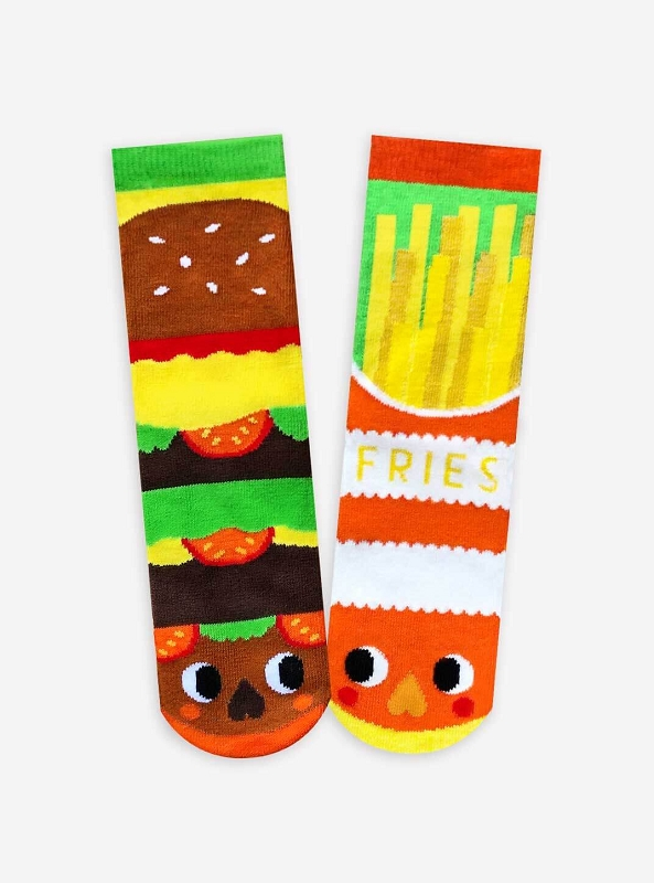 Mismatched Socks | Burger & Fries