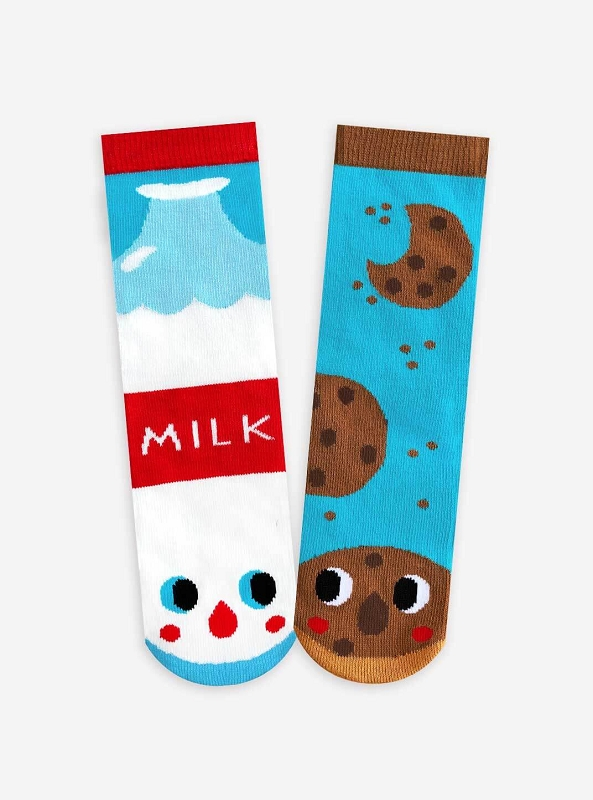 Mismatched Socks | Cookies & Milk