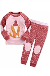 Winter Fox 2pc PJ Set