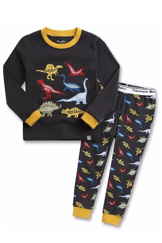 Dino Names 2pc PJ set