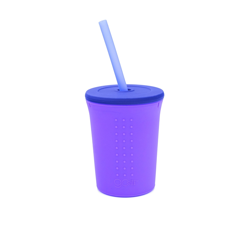 Silicone Straw Cup | 12 oz